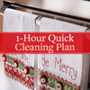 1-Hour Quick Clean Plan