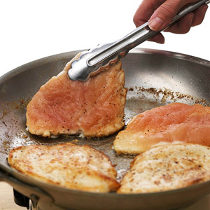 Some Cooks Like To Flatten Chicken Breasts For Quick Even Cooking Simply Place Each Chicken Breast Between Two Sheets Of Plastic