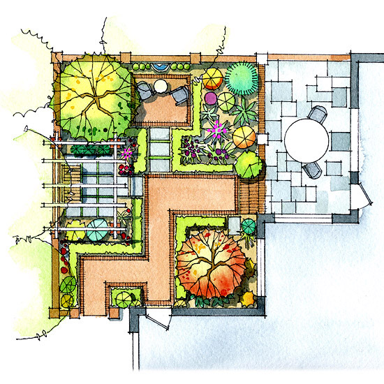 Related keywords suggestions for landscaping layout for Landscape design layout