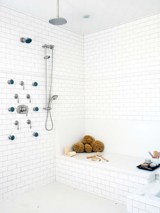 Building a Nonenclosed Shower