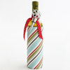 Bold Striped Wine Wrap