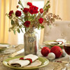 Holiday Flowers Table Centerpiece