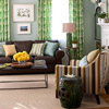 Living Room Color Scheme: Contemporary Naturals