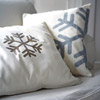 Winter Wonderland Snowflake Pillows