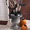 Doorstep Halloween Urn Display