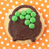 Cauldron Halloween Cookie