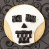 Skeleton Halloween Cookie