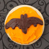 Flying Bat Halloween Cookie