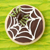 Spiderweb Halloween Cookie