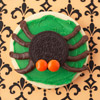 Spider Halloween Cookie