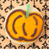 Pumpkin Halloween Cookie