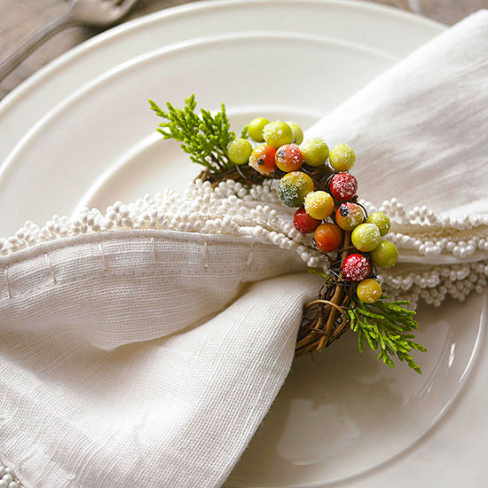 Nature Crafts for Your Winter Table
