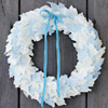 Fabric Leaf Wreath