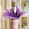 Lovely Lavender Wine Wrap