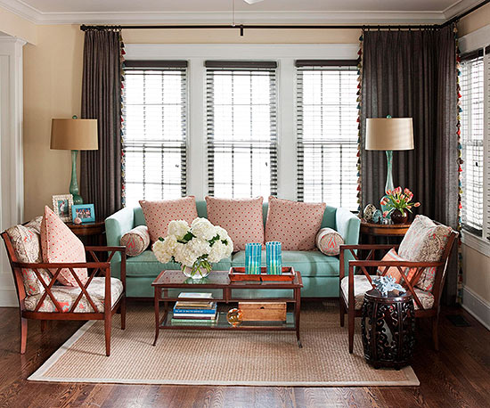 Another Way To Make Your Dark Floors Work For You Is By Adding Cheerful  Colors To Your Decor Choices. If You Are Fearless Enough To Choose An  Upholstered ... Part 62