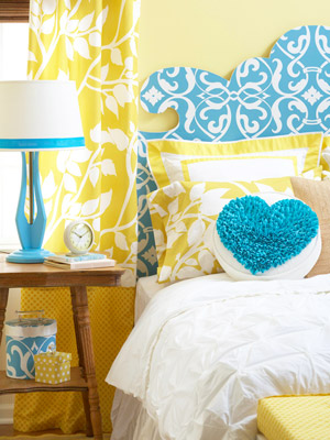 Bright Bedroom on a Budget - Better Homes & Gardens - BHG.com