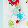 Snowflake Felt Stocking