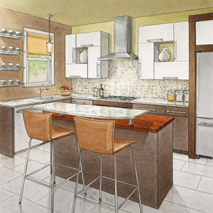 Secrets Of Successful Kitchen Layouts Better Homes And Gardens