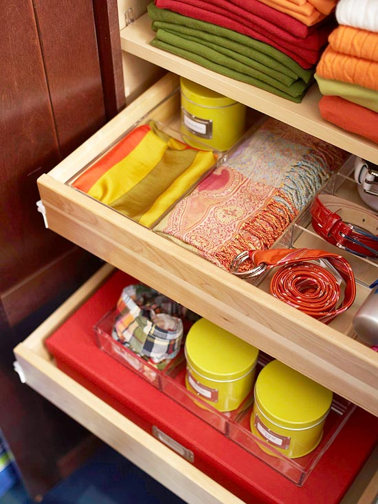 Clever Ways to Store Clothing Accessories
