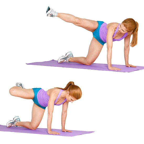 Five Quick Exercises to Tone Your Tush