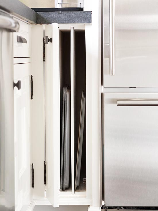 Pack More Storage Into Kitchen Cabinets With Custom Features Designed To  Make Life Easier. Trash Pullouts, Cutlery Trays, And Drawer Drivers  Integrate ...