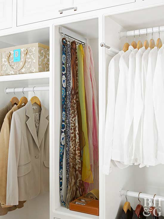 Organize the Bedroom Closet