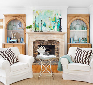 Fireplace Decorating Ideas - Better Homes and Gardens -BHG.com