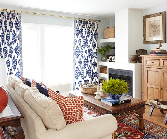 Living Room Decorating Stylish Functional