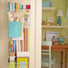 Over-the-Door Storage for Gift Wrapping Supplies