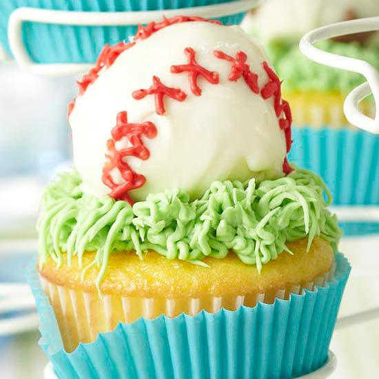 Cake Decorating Ideas For 18 Year Old Boy : Birthday Cupcakes for Boys from Better Homes and Gardens
