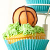 Slam Dunk Basketball Cupcakes