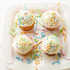 Silly Confetti Birthday Cupcakes