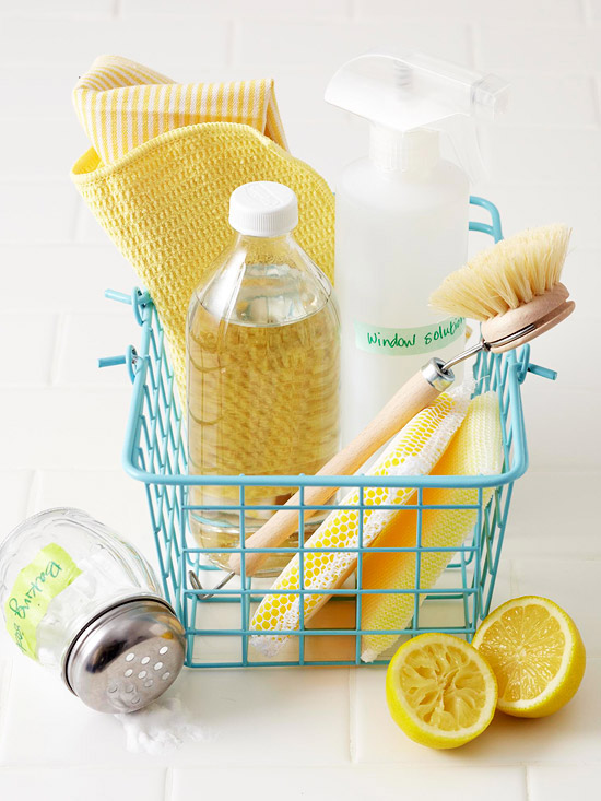 Green Cleaning Products & Recipes