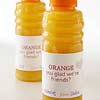 Orange Juice Valentine with Label