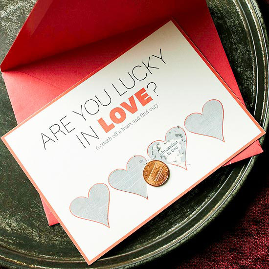 Make a Scratch-Off Hearts Card for Valentine's Day