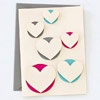 Pop-up Hearts Card