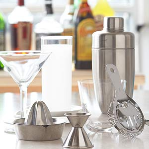 Essential Bar and Cocktail Tools from Better Homes and Gardens