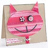 Funky Cat Birthday Card
