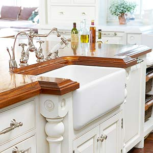 Countertop Material Weight : Wood Countertop Guide - Better Homes and Gardens - BHG.com