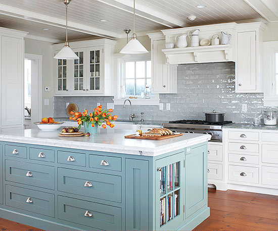 Find the perfect kitchen color scheme for White kitchen cabinets what color backsplash