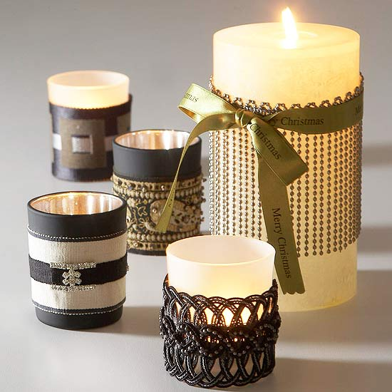 Creative candles to craft Home decor candlesticks
