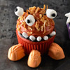 Funny-Faced Monster Birthday Cupcakes