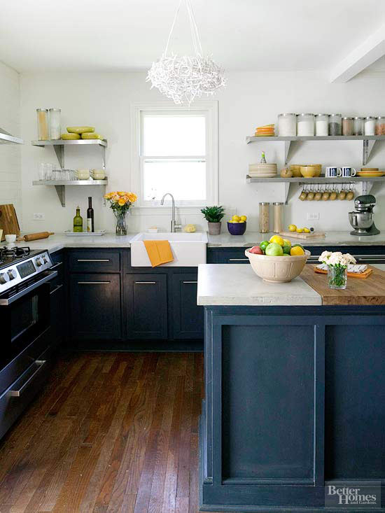 balanced flair - Homes And Gardens Kitchens