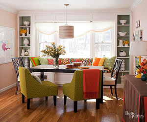 Dining Room Decorating - Better Homes and Gardens - BHG.com