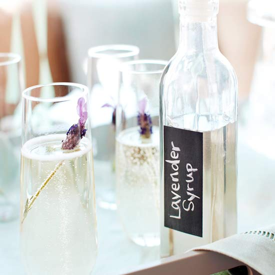 Fun Ideas for Champagne Mix-Ins
