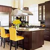 Warm Up a Modern Kitchen