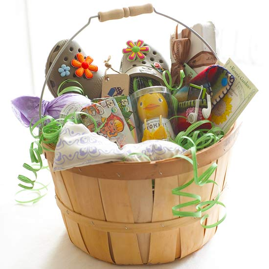 What to put in easter baskets from better homes gardens the idea of a bunny leaving eggs candy and toys in baskets for children is an old easter tradition these easter basket filler ideas will help you put a negle Image collections
