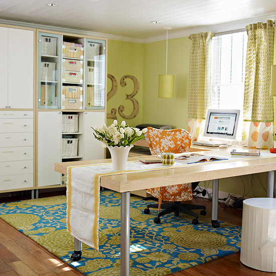 Pretty & Practical Work Space