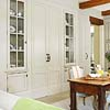 Chic Built-In Doors