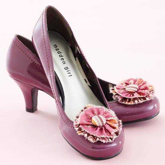 Cute Shoe Flowers